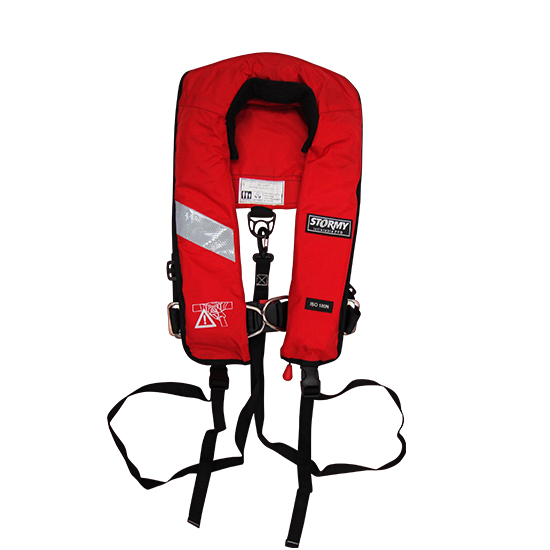 life jacket harness life vest pro 180n with harness - stormy lifejackets® #3
