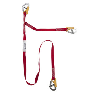 MX6 3 Clip Tether - Life line