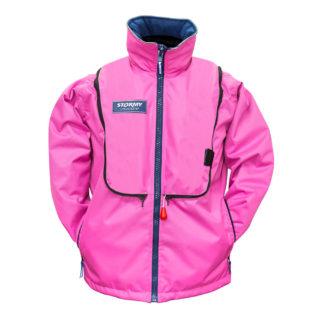 Stormy Pink Life Jacket - 180N
