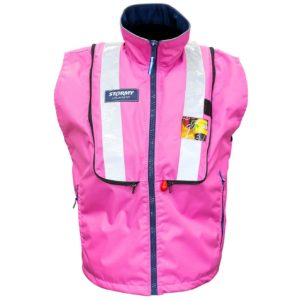 Stormy Pink Vest