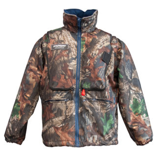 Stormy Camouflage Life Jacket - 180N